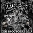 Belphegor + Enthroned + Destroyer 666 + Nervochaos + Nordjevel