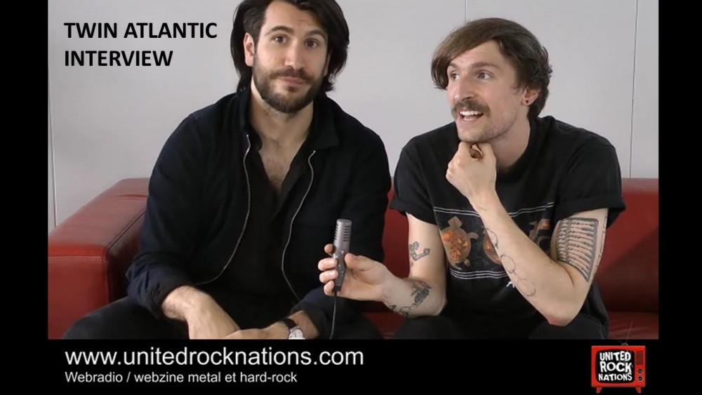TWIN ATLANTIC, l'interview vidéo