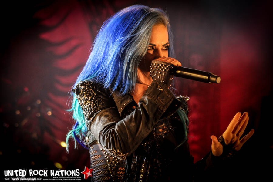 ARCH ENEMY (Alissa White Gluz), l'interview promo de ''Will To Power''