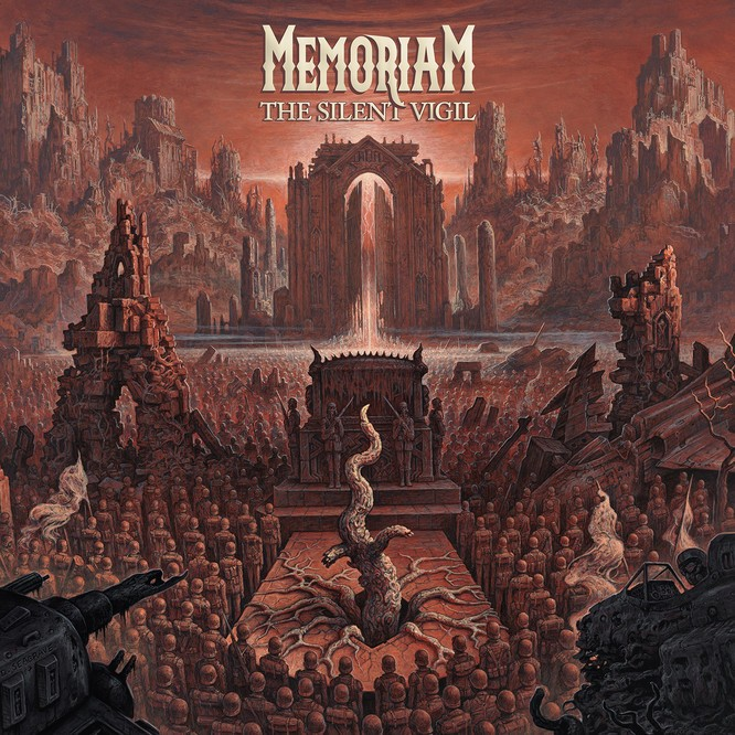 MEMORIAM, l'interview promo de ''The Silent Vigil''