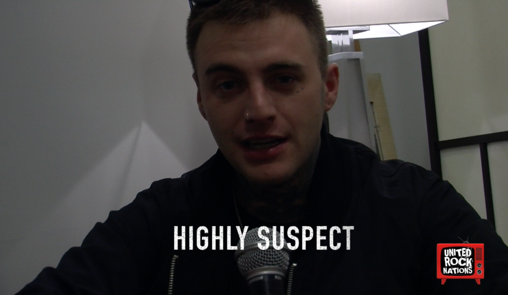 HIGHLY SUSPECT, l'interview promo de ''The Boy Who Died Wolf''