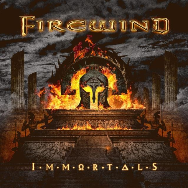 GUS G (Firewind), l'interview promo de ''IMMORTALS''