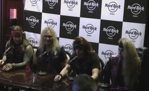 Interview vidéo STEEL PANTHER
