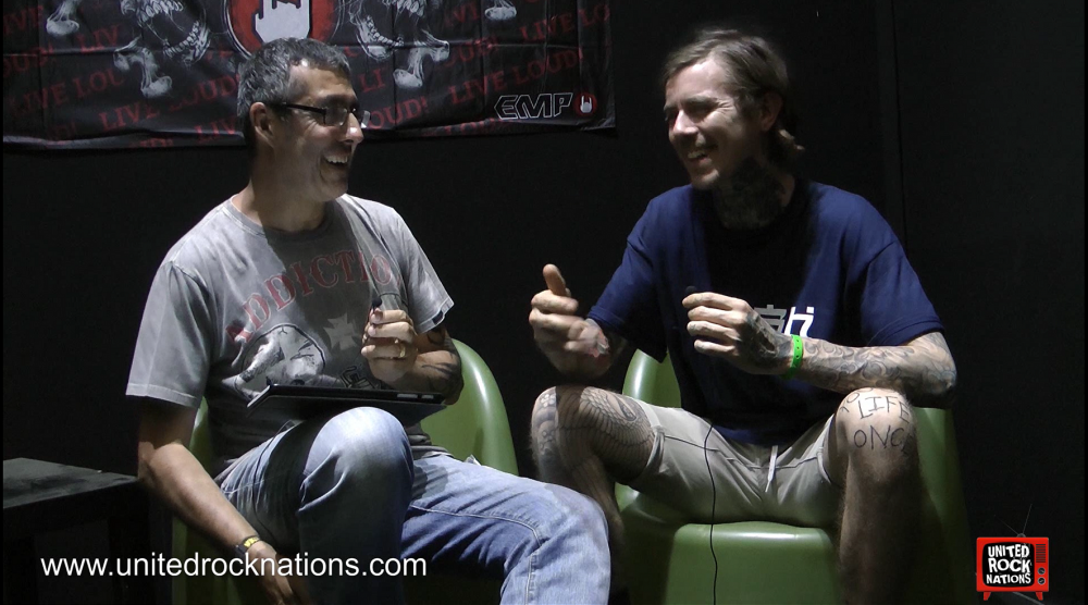 DEEZ NUTS, l'interview du Hellfest