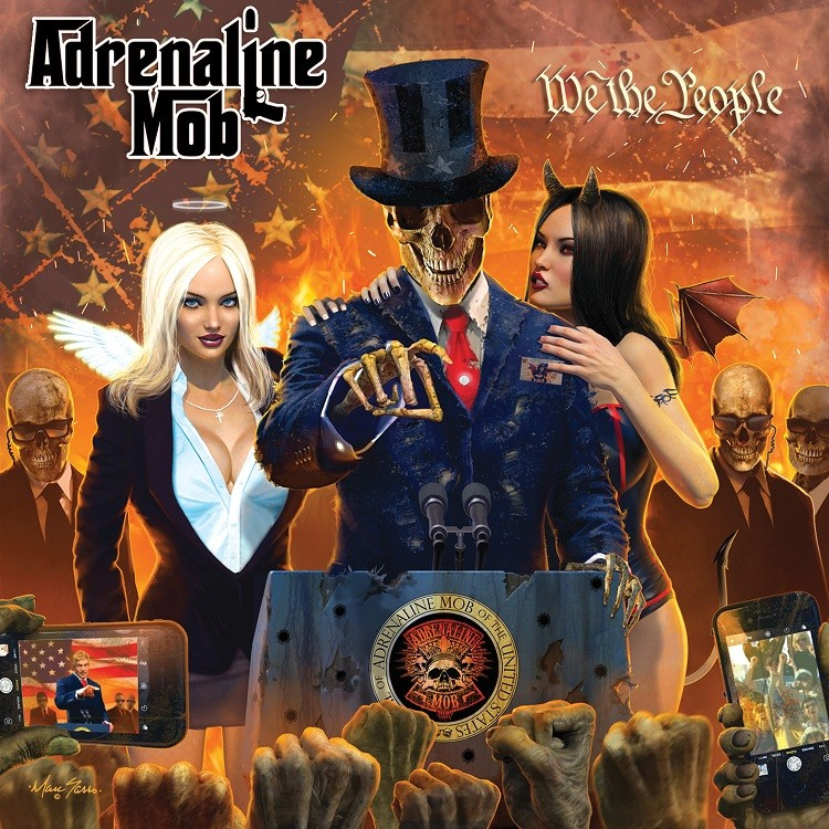 Album We The People par ADRENALINE MOB