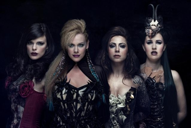 EXIT EDEN, l'interview promo de ''Rhapsodies In Black''