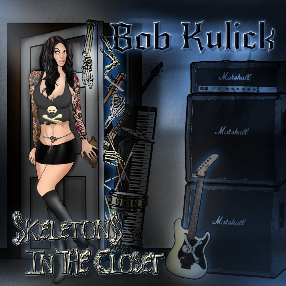 BOB KULICK, l'interview promo de ''Skeletons In The Closet''