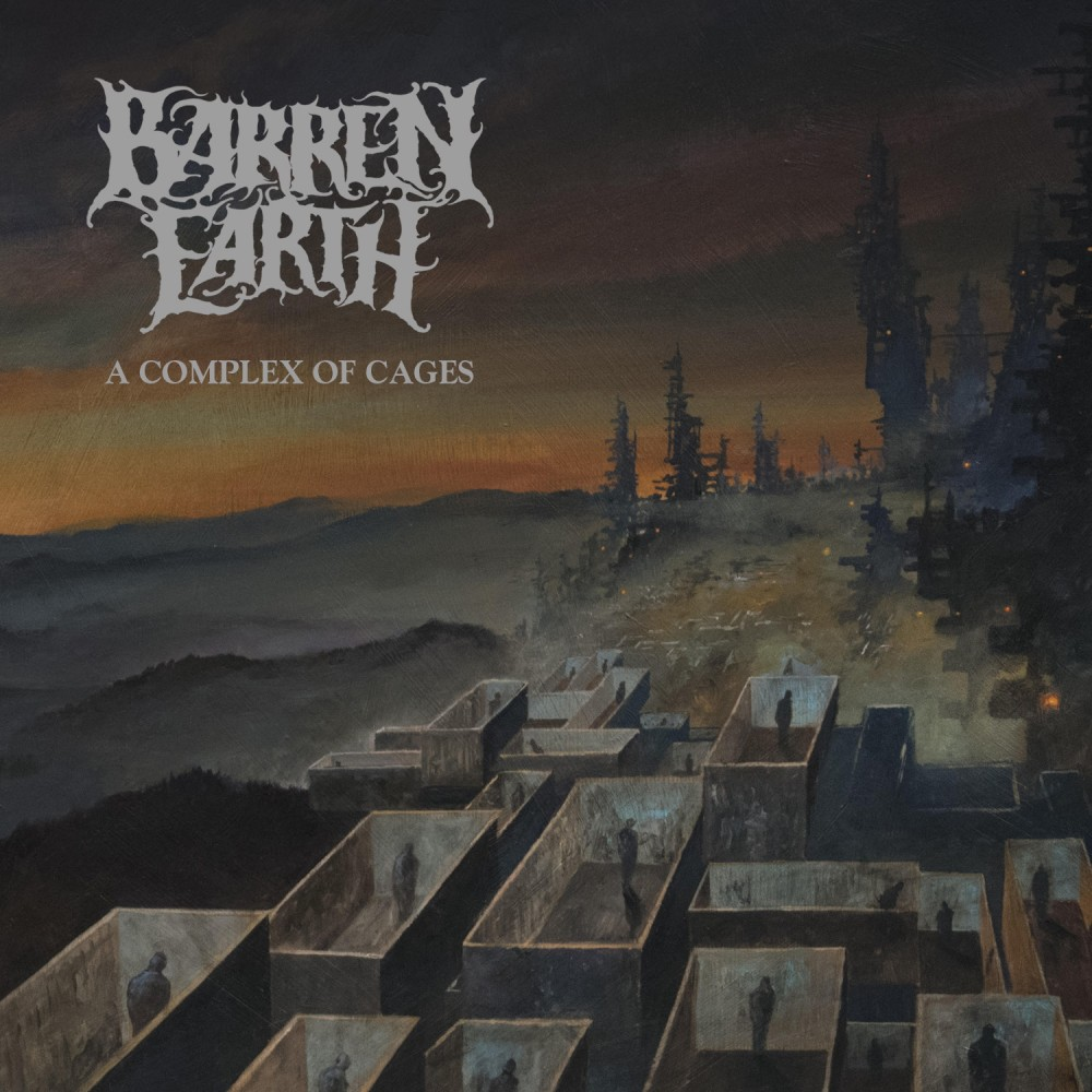 Album A Complex Of Cages par BARREN EARTH