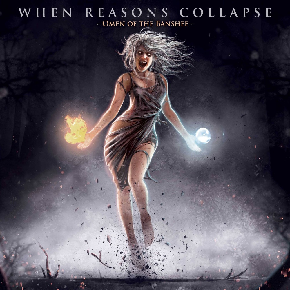 Album Omen of the Banshee par WHEN REASONS COLLAPSE