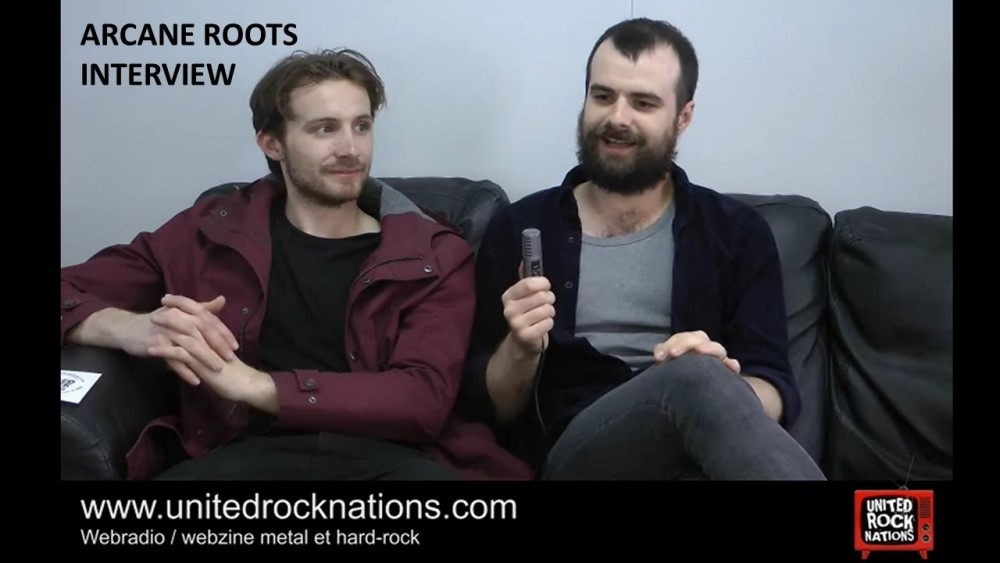 ARCANE ROOTS, l'interview vidéo