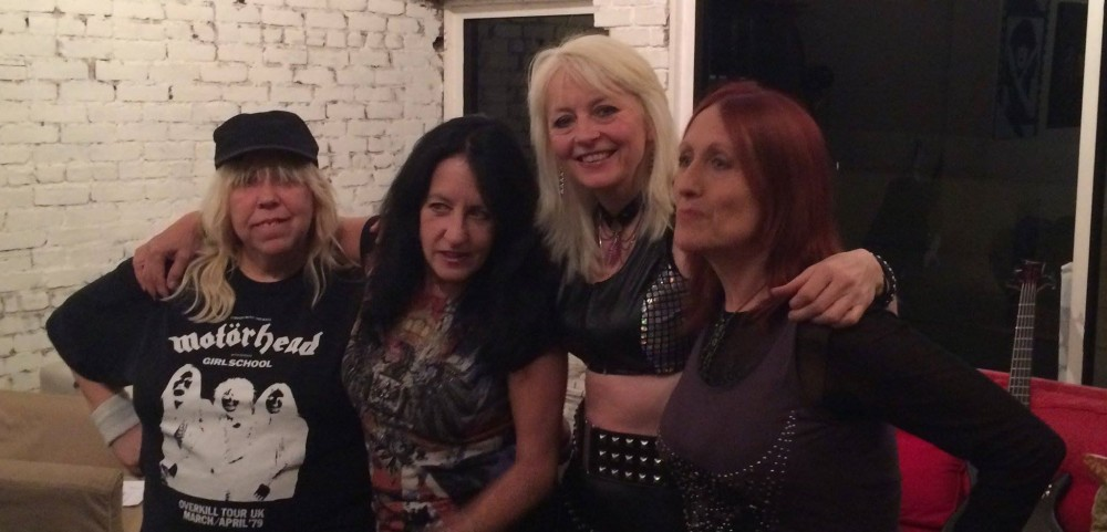 Interview audio GIRLSCHOOL