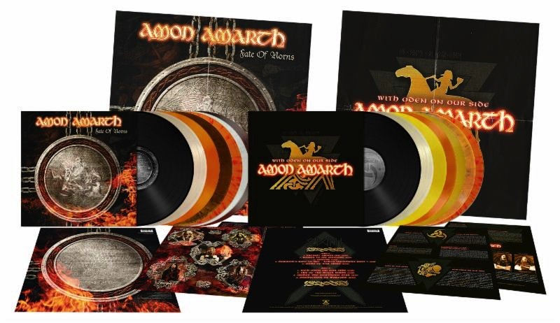 AMON AMARTH: Réédition de'Fate Of Norns' et 'With Oden On Our Side'!