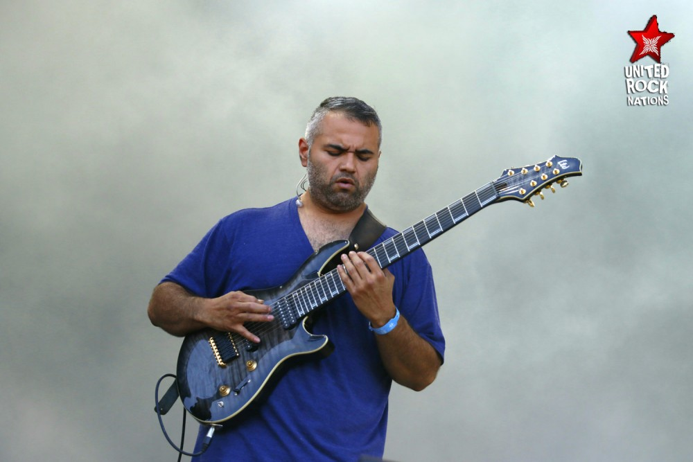 ANIMALS AS LEADERS, en direct du Hellfest, @Main Stage 1, 16 juin 2017