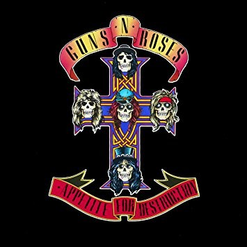Appetite for Destruction des Guns N' Roses a 30 ans aujourd'hui