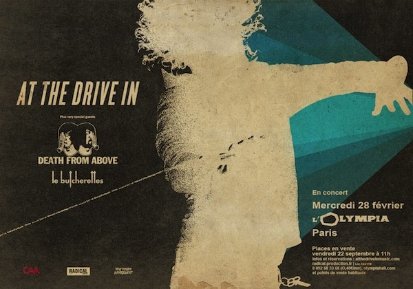 AT THE DRIVE IN : date unique à l'Olympia en 2018 !