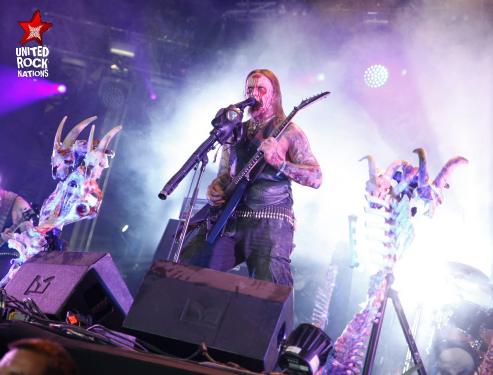BELPHEGOR, en direct du Hellfest, @Temple, 16 juin 2017