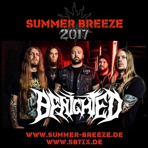 Benighted s'ajoute au prestigieux Summer Breeze Open Air 2017