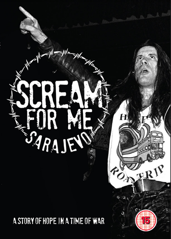 BRUCE DICKINSON : sortie le 29 juin du DVD ''Scream For Me Sarajevo'' !