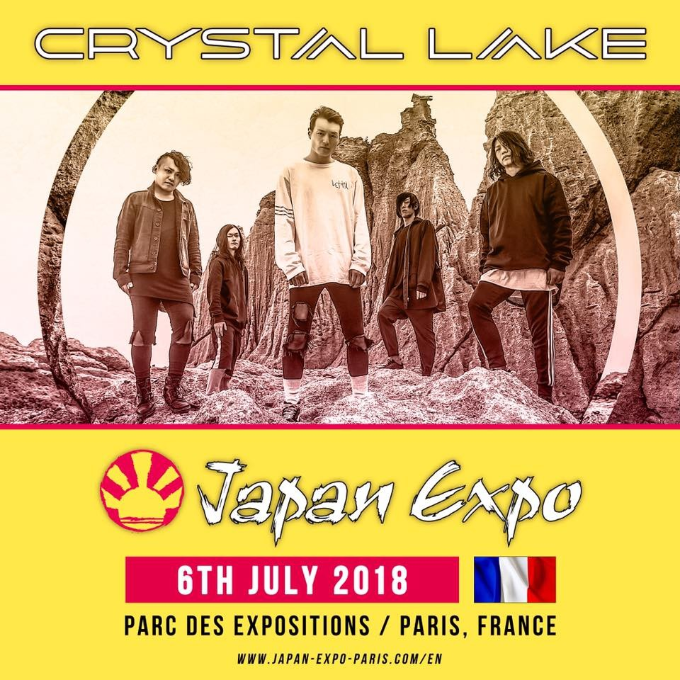 Crystal Lake sera à la Japan Expo de Paris
