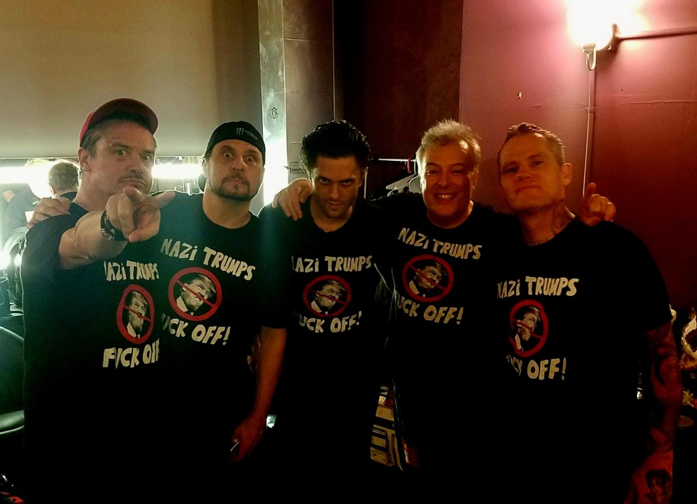 Dead Cross et Jello Biafra se payent Donald Trump