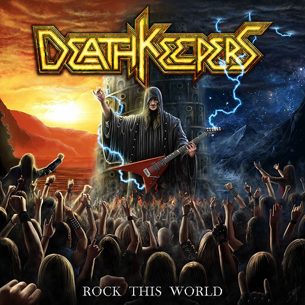 DEATH KEEPERS : ''Rock this World'' nouveau clip!