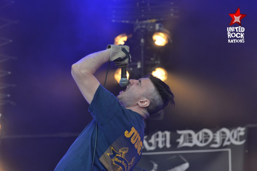 HARM DONE, en direct du Hellfest, @Warzone, 18 juin 2017