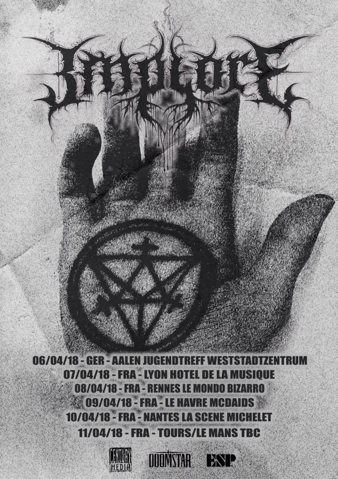 Implore est de retour pour le ''Pre-Grind Over Europe II Tour''