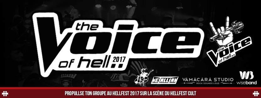 Lancement du tremplin The Voice Of Hell !