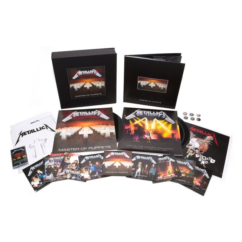 METALLICA : Le monstrueux coffret de Master Of Puppets remastered
