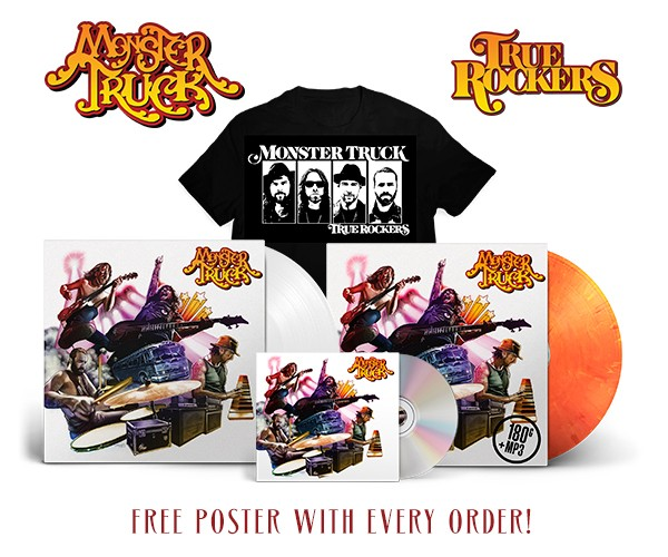 MONSTER TRUCK : sortie du nouvel album ''True Rockers'' le 14 septembre !