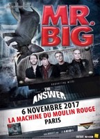 MR BIG :  Date à Paris avec The Answer !
