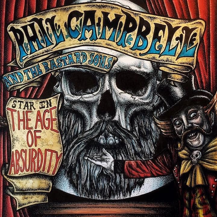 PHIL CAMPBELL AND THE BASTARDS SONS : Nouvel album !!!!!