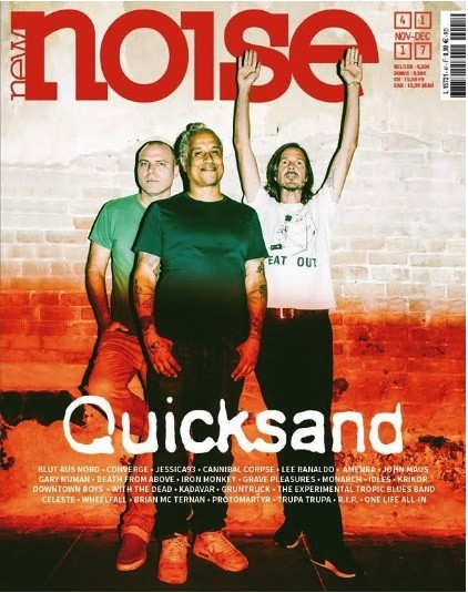 QUICKSAND : Nouvel album dispo. En couverture de New Noise Mag!