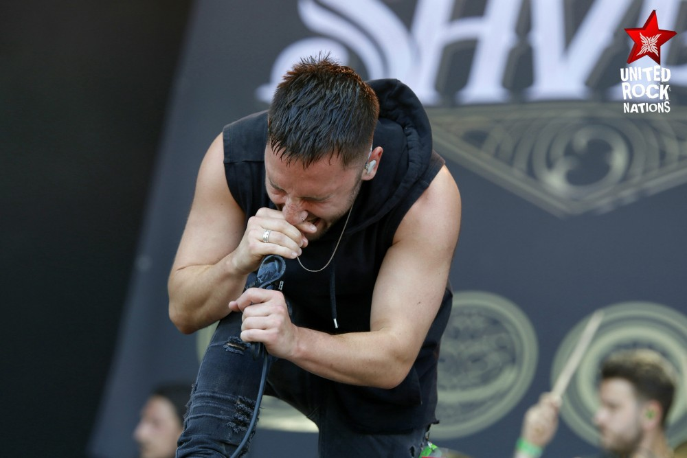 SHVPES, en direct du Hellfest, @Main Stage 2, 18 juin 2017