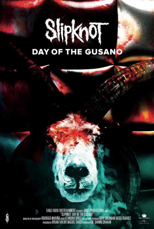 Slipknot : Trailer de leur film-documentaire ''Day Of The Gusano'' !