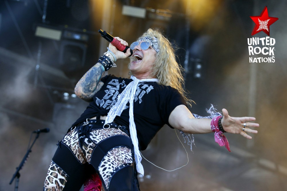 STEEL PANTHER, en direct du Hellfest, @Main Stage 1, 17 juin 2017