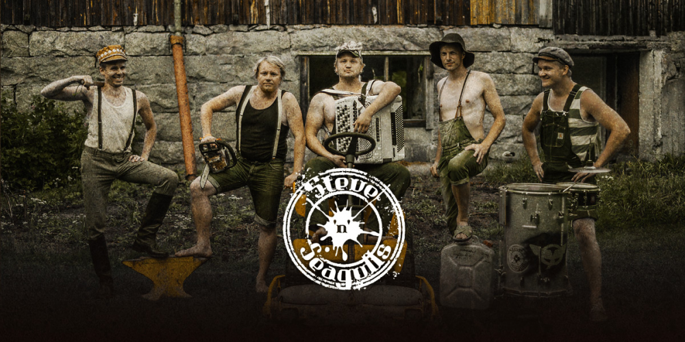 STEVE'N'SEAGULLS Passage TV et dates en France.