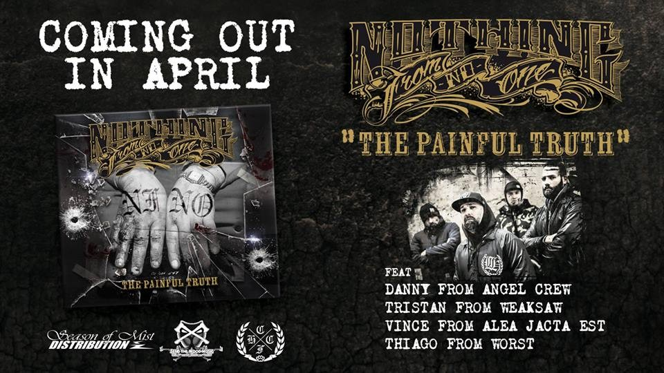 ''The Painful Truth'' de NOTHING FROM NO ONE sort aujourd'hui !