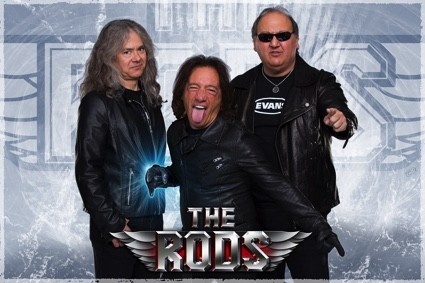 THE RODS/ Signature avec le label STEAMHAMMER/SPV !