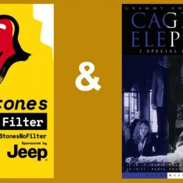 cage the elephant tourn e avec les rolling stones 5 concerts fran ais en octobre. Black Bedroom Furniture Sets. Home Design Ideas