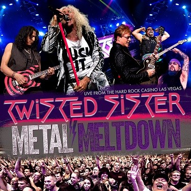 TWISTED SISTER, nouveau DVD  Live at the Hard Rock Casino Las Vegas