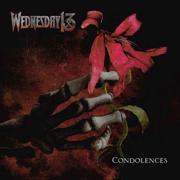Wednesday 13 : Les détails  du nouvel album 'Condolences'