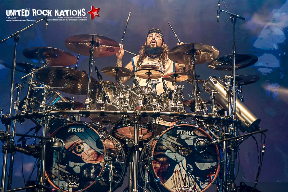 Report MIKE PORTNOY's SHATTERED FORTRESS @ le Trianon le 01/07/2017!