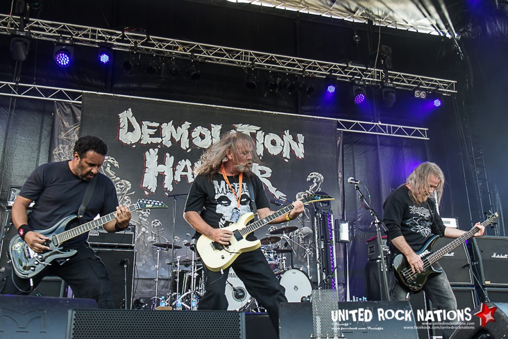Portfolio DEMOLITION HAMMER @ Fall Of Summer 2017!