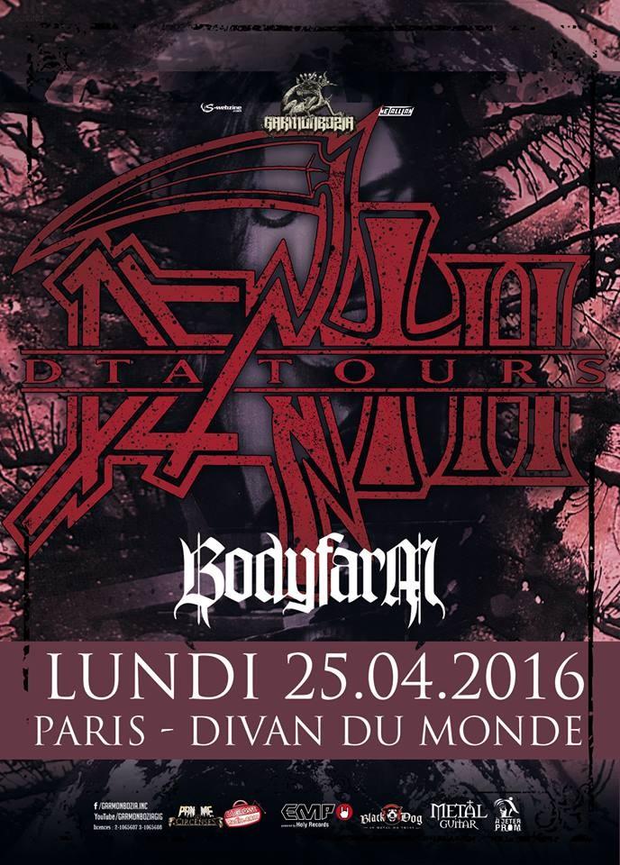 Bodyfarm death metal for Divan du monde