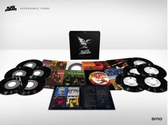 BLACK SABBATH : 'Supersonic Years - The Seventies Single Box Set' - sortie le 8 Juin 2018.