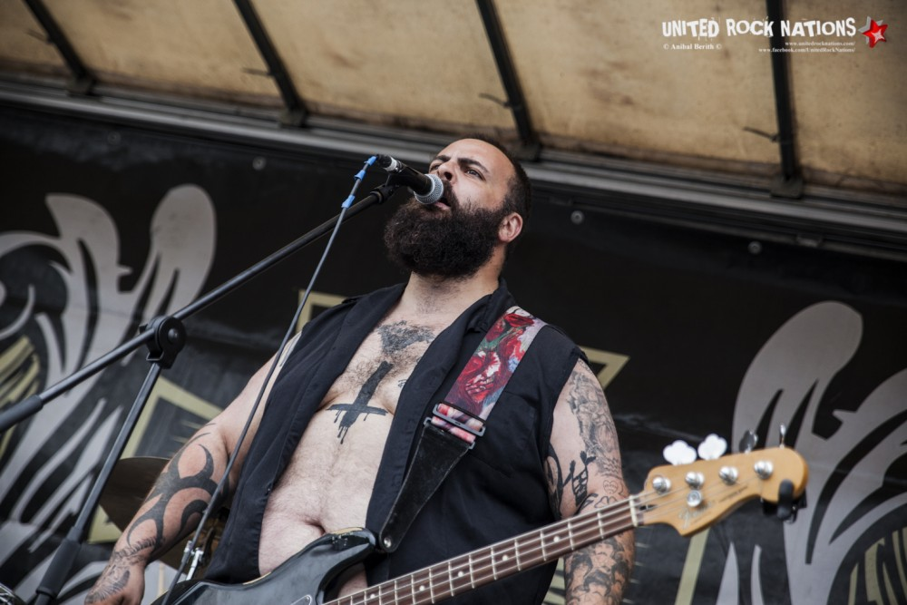 BALLS OUT sur la parking de Leclerc, Clisson, Hellfest 2018