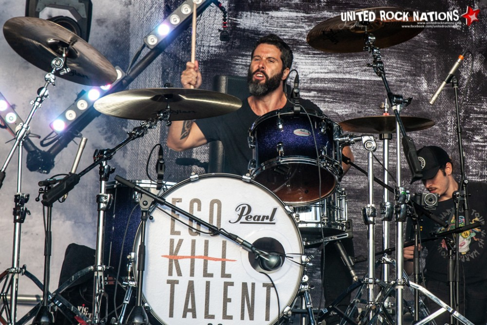 EGO KILL TALENT sur la scène Spitfire du Download Festival 2018