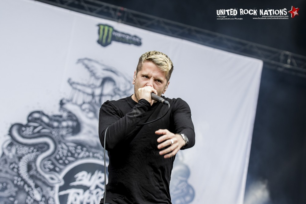 BURY TOMORROW , live Hellfest 2016