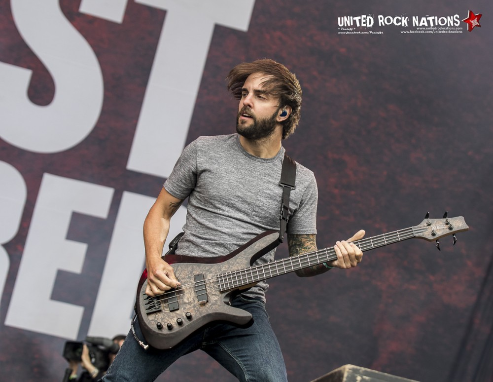 AUGUST BURNS RED, live Hellfest 2016